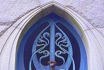 Puertas / Doors / Puertas dignas de observarse, ser cruzadas o hacerlas para que nos sirvan