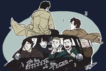SuperWhoLock / Supernatural, Doctor WHO and Sherlock Crossover