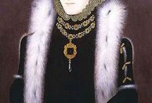 1550 - 1600 Queen Elizabeth . Fashion