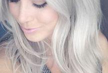 Cabelos Brancos (Platinados) / O poder dos cabelos brancos e platinados.