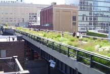 Inner-City Nature / the green, the social, the inspirational  to improve urban living and urban community  mostly NYC, but also other inspirational projects