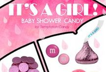 Baby Shower Candy / The perfect candy for Baby Showers! Whether It's a Boy! or whether It's a Girl! we have the candy you need to make your shower unforgettable.