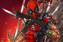 Super Heroes / Imagens de heróis e vilões do mundo dos quadrinhos.