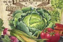 malovaná zelenina