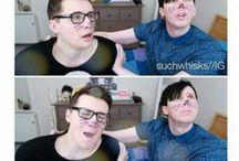 Dan and Phil >•<
