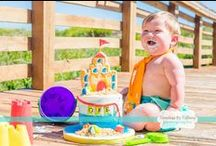Cake Smash / Will your little one Jump right in on the Cake Smashing...or will they be more timid~ Make sure you get it Captured...One way or the other