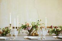 #WeddingTime / Ideas for a simple but refined wedding