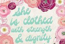 Faith-Spiration / Beautifully illustrated Bible Verses!