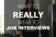 Dress For Success / Have you ever worried about what to wear to an interview or networking event? Just try on some of these dress for success looks that are bound to impress  potential employers with your professionalism. / by SSU Career Services