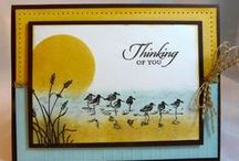 Wetlands Stampin Up / Neat Stampin Up set / by Nancy Childs