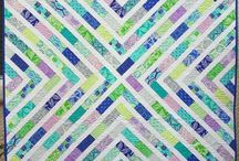 Quilt - Jelly Roll / Patchwork Quilt Jelly roll