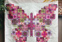 Quilt - Tula Pink / Patchwork und quilten Citycampler Tula Pink Anleitungen von Tula Pink