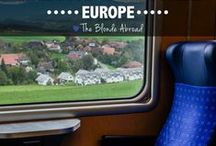 Traveling Europe / by Maureen Toone