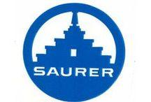 ♦ Auto: Adolph Saurer AG (CH) (1903 - 1982) / Saurer (1903 - 1982) , Swiss  * Merged with Franz Brozincevic & Cie into Nutzfahrzeuggesellschaft Arbon & Wetzikon (NAW) * @@@ Arbon, Switzerland @ Franz Saurer @ Adolf Saurer @ Hippolyth Saurer @