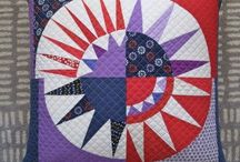 Quilt - New York Beauty / New York Beauty Quilt Patchwork