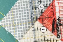 Quilt - Tutorials / Anleitungen Schritt für Schritt Quilt Patchwork