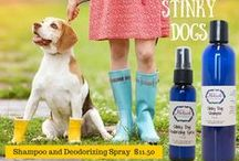 Pets / Our natural collection for dogs with sensitive skin or allergies. Uses essential oils that are great for deterring unwanted pests as well!