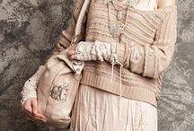 1 Clothes in the style of ethnic / boho / shabby chic (одежда в стиле этно/бохо/шебби шик) / Бохо это многослойность и аксессуары: браслеты, ожерелья, шарфы, ремни, узкие джинсы, расшитые бисером туники,кардиганы из натуральных тканей-лен, шифон, свободный крой, сапоги и сандалии на плоской подошве. Цвета – черный, хаки, серый, синий, белый. How to Look Boho? Boho is free people dresses and skirts, sandals and flat boho boots, bracelets, necklaces, scarves, belts, skinny jeans, embroidered with beads tunics, cardigans, natural fabrics linen, chiffon, color-black, khaki, gray, blue...
