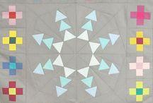 Quilt - Medaillon / Medaillon Quilt Patchwork