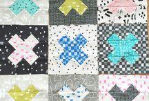 Quilt - Kreuze / Cross / Patchwork Quilt