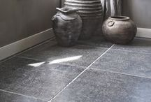 Belgisch hardsteen vloer keuken