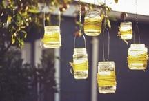 Garlands and lanterns