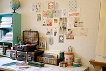 art studio / work room