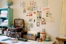 art studio / work room