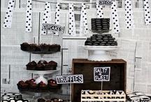 Black & White Food