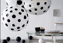Black & white crafts