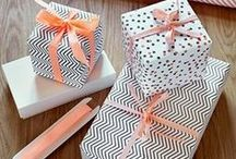 Gorgeous Giftware / Snazzy and stylish gift wrapping ideas!