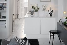 Simply Grey and White Interiors / The stylish Scandinavians always get it right, which is where the inspiration came from for this board. Pared back monochrome interiors but with a softer, grey twist. Because we all know grey in interiors isn't going ANYWHERE.