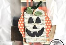 Jack O. Lantern {Die Set} / Jack O Lantern Die set is perfect for adding a face to any shape! #diecutting #dies #JackOLantern #pumpkinface