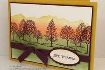 Stampin Up - Lovely as a Tree / by Cathy Holman
