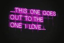 Words in Neon