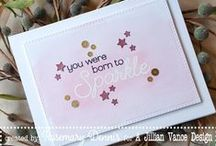 Simply Said: Sparkle & Shine {Stamp Set} / Sparkle and Shine stamp set coordinates with our Dazzling Diamond Die Set