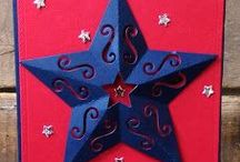 Elegant 3D Star {Die} / Elegant 3D Star {Die} is gorgeous in silver cardstock!  The stitching lines create score to make it 3D.  Cut two put them back to back for a beautiful Christmas ornament!  So many possibilities.  Star, 3D star, Christmas Star