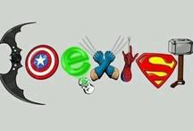 Superheroes / by Amanda Cumba