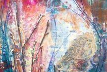 COURS, FORMATIONS, SÉMINAIRES avec Anne-Marie / Coaching créatif, enseignement artistique en art pictural. peinture acrylique, peinture à l'huile, pastel, mixte média etc.