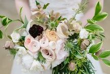 spring wedding inspiration: bouquets / by robin y.