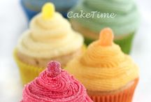 Tempting Color Cupcakes / All about cupcakes
