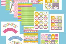 Printable Party Items