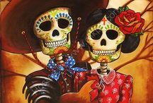 DAY of the DEAD - Dia de Los Muertos / Day of the dead Dia de Los Muertos / by Cindy B.