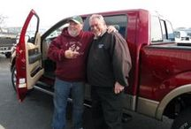 Satisfied Customers / Buying a new car or truck can be fun and a satisfying experience. At Longhorn Ford we have great customers and we really appreciate the opportunity to earn their business.