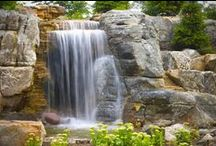 Water Features & Ponds / using the sights & sounds of water to bring a natural element to you for a soothing & relaxing time to be had by all