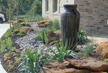 Xeriscaping / 1 of our specialties...a landscaping technique that reduces or eliminates the need of water & is used in place of traditional gardening techniques...used mainly where access to water becomes more limited.