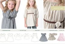Sewing for girls - Nähen für Mädchen / Patterns and inspirations for sewing projects for girls. Focus on girls 10+ years.