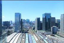 Central Tokyo view / Tokyo view from Hotel Metropolitan Marunouchi.