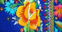 haft stroju ludowego Małopolska