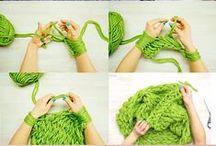 Breien / breien, knitting